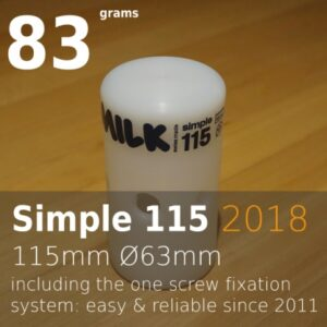 Milk head simple 115