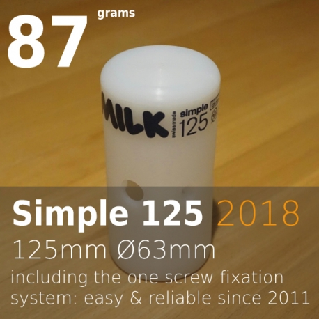 Milk head simple 125